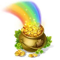 slot machine rainbow