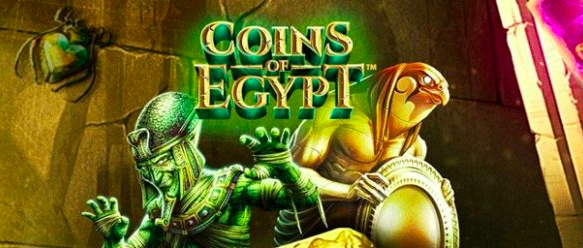 Coins Of Egypt Slots Green