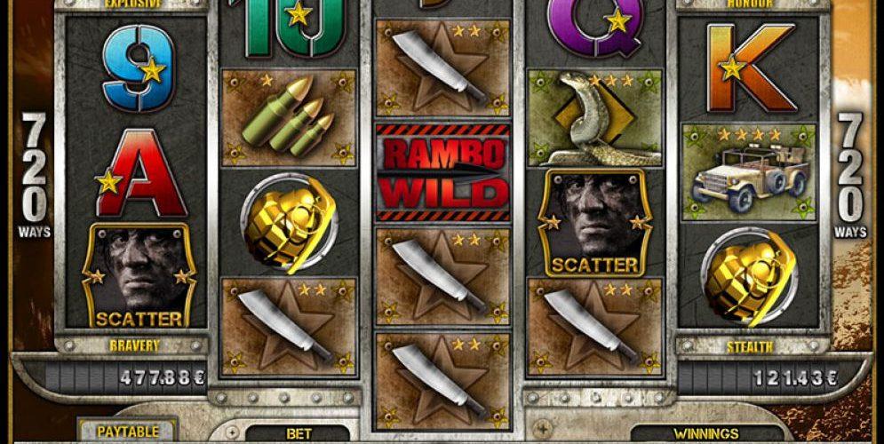 rambo slot screenshot